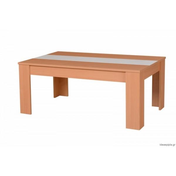 Τραπέζι σαλονιού Marengo Natur/Λευκό