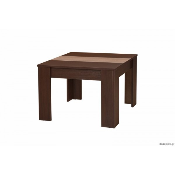 ΤΡΑΠΕΖΑΚΙ ΣΑΛΟΝΙΟΥ TANGO WENGE/SONOMA 65,5Χ65,5Χ46,5 εκ.