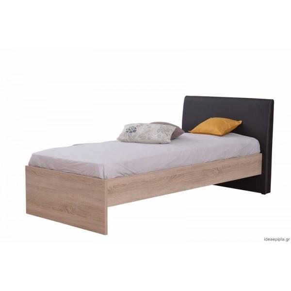Κρεβάτι Ben 90 Sonoma/Καφέ