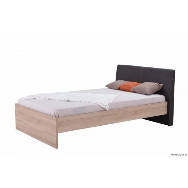 Κρεβάτι Ben 120 Sonoma/Καφέ