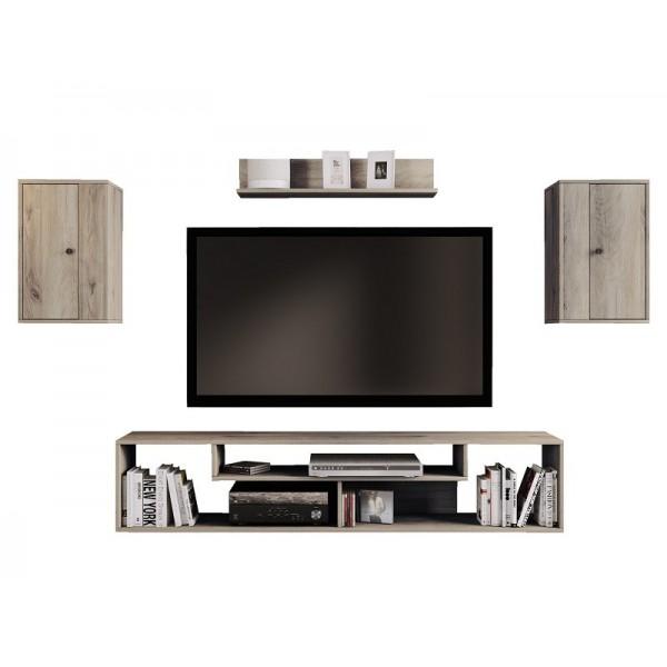 ΣΥΝΘΕΣΗ TV ISO SONOMA ARVEN 170X33X120 εκ.