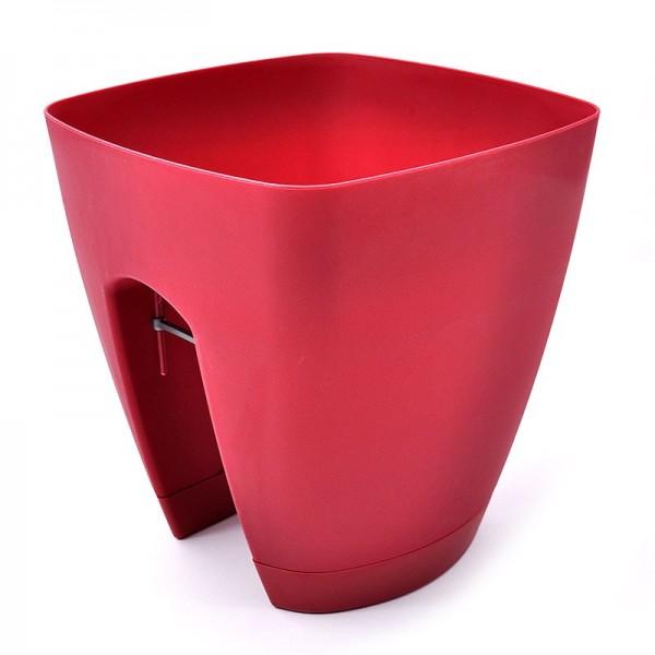 Πλαστική γλάστρα Κόκκινο