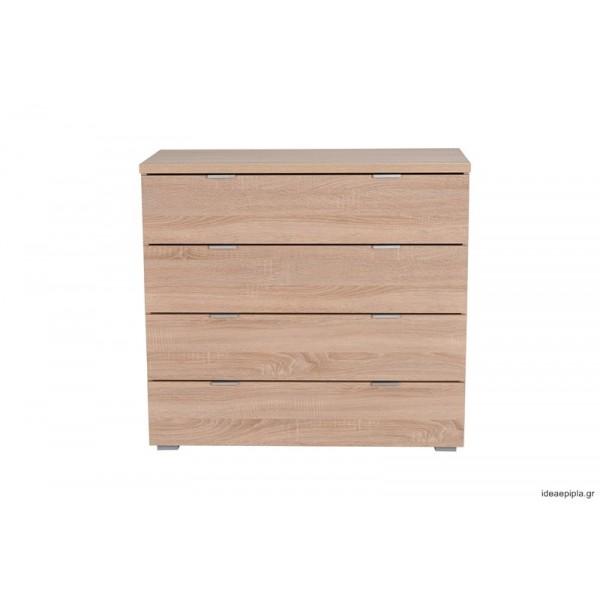Συρταριέρα Universal 4F Sonoma