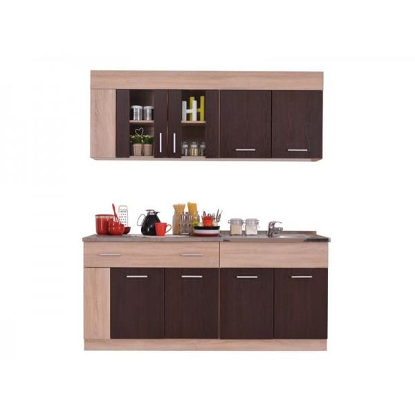 Κουζίνα Leona 180 Sonoma/Wenge