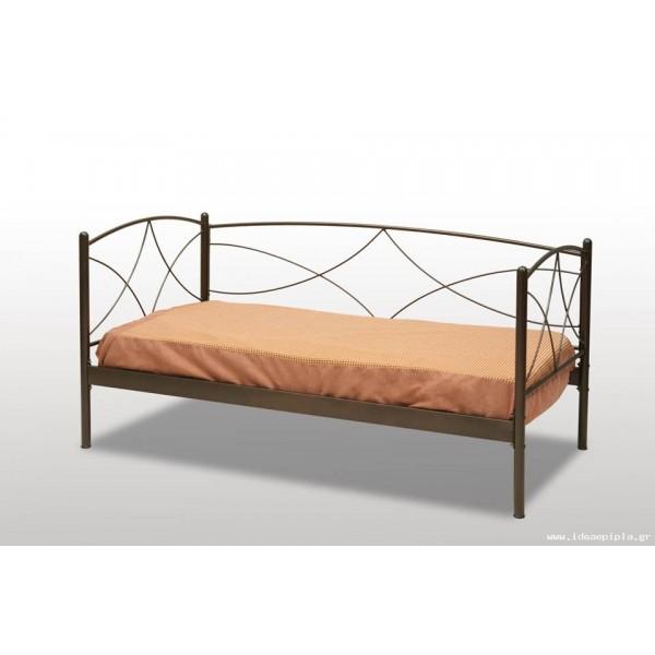 Μεταλλικός καναπές Ανδρος