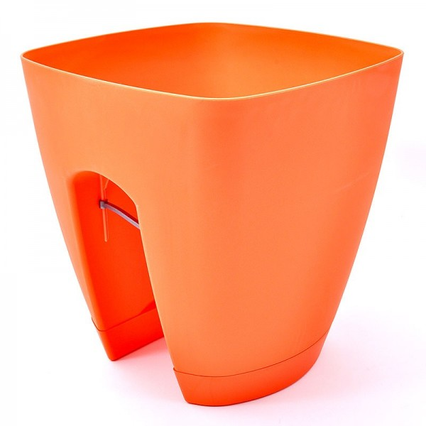 Πλαστική γλάστρα Πορτοκαλί