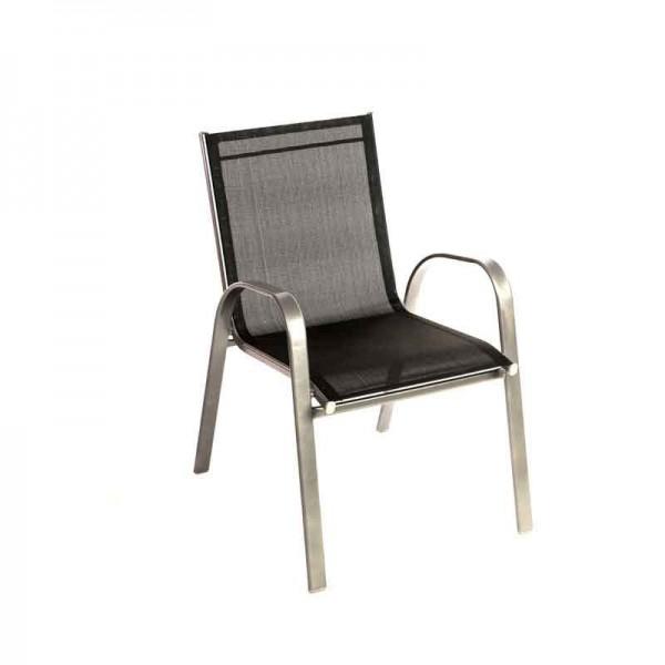 Καρέκλα 341-15-038 Textilene Γκρι