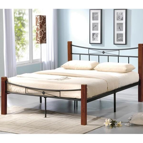 Μεταλλικό κρεβάτι Flora 160X200 εκ.