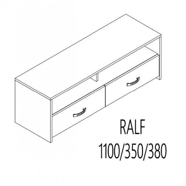 ΈΠΙΠΛΟ TV RALF SONOMA 110Χ35Χ38 εκ.