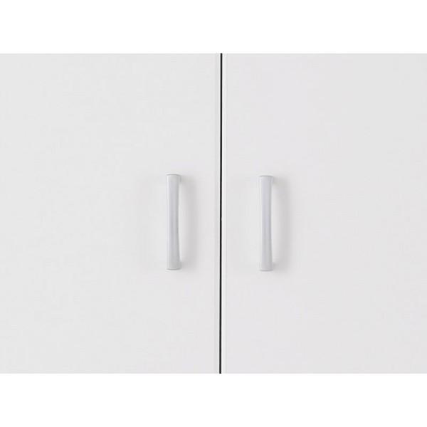 Ντουλάπα 3φυλλη HANA 3K Ασπρη