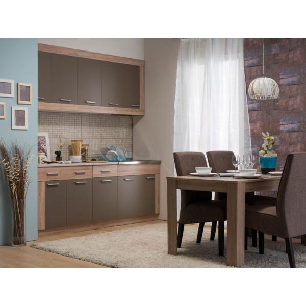 Τραπέζι κουζίνας Domus 135Χ80 SONOMA