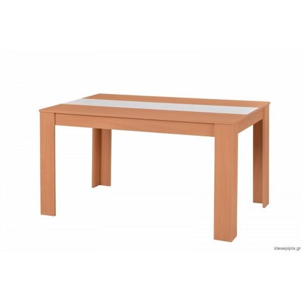 Τραπέζι κουζίνας Domus 135Χ80 NATUR