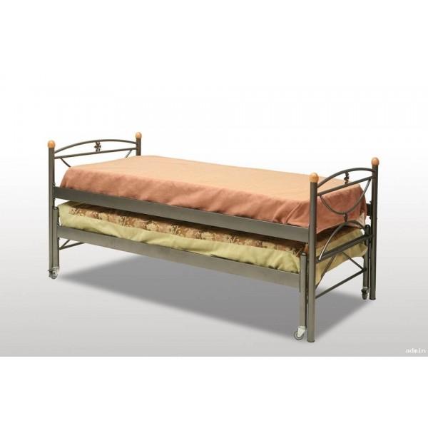 Μεταλλικό Κρεβάτι συρωμενο