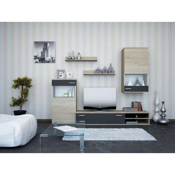 Σύνθετο TV Silver Sonoma