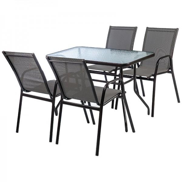 Σετ τραπέζι με 4 καρέκλες - 418-16-411