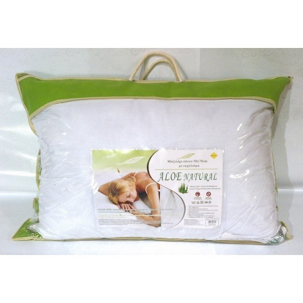 Μαξιλάρι ύπνου με εκχύλισμα ALOE VERA