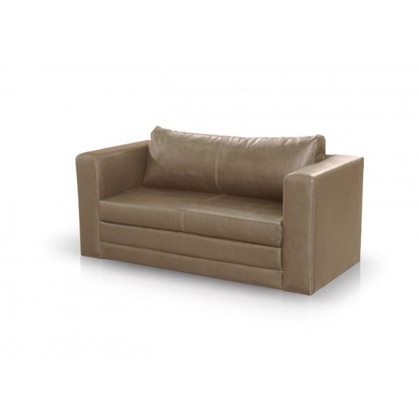 Καναπές 2θεσιος Style Καφέ