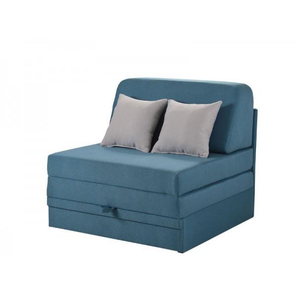Πολυθρόνα Fantastico Plus Μπλε/Γκρι