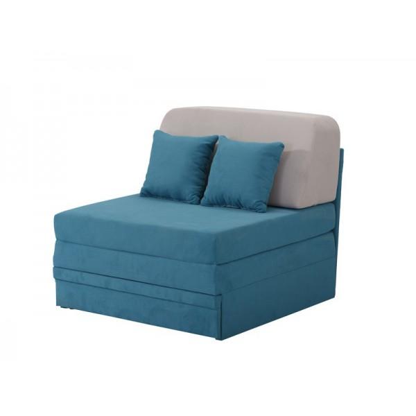 Πολυθρόνα Fantastico Μπλε/Γκρι