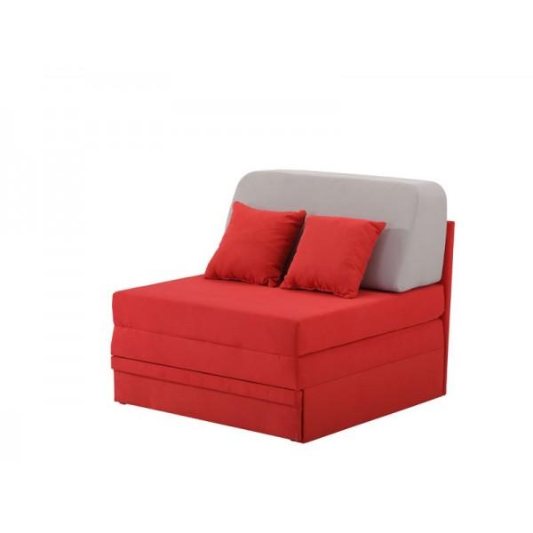 Πολυθρόνα Fantastico Κόκκινο/Γκρι