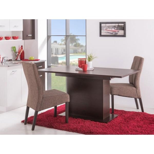 Τραπέζι κουζίνας Eldon 153Χ90 WENGE