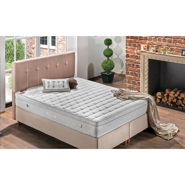 Κρεβάτι Vista με στρώμα