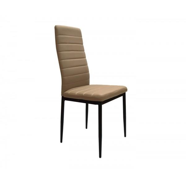 Καρέκλα τραπεζαρίας μπέζ