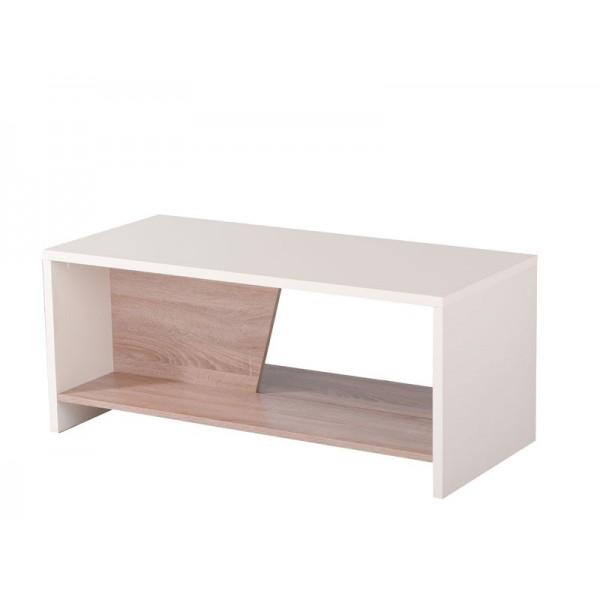 Τραπέζι σαλονιού Eric ΑΣΠΡΟ/SONOMA