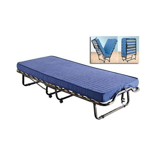 Κρεβάτι σπαστό με 10 εκ. στρώμα luxor