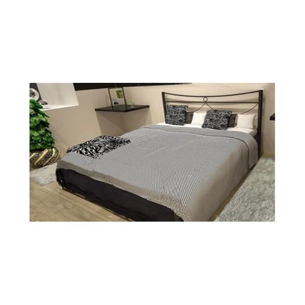 Μεταλλικό κρεβάτι Pier 110Χ190 εκ.