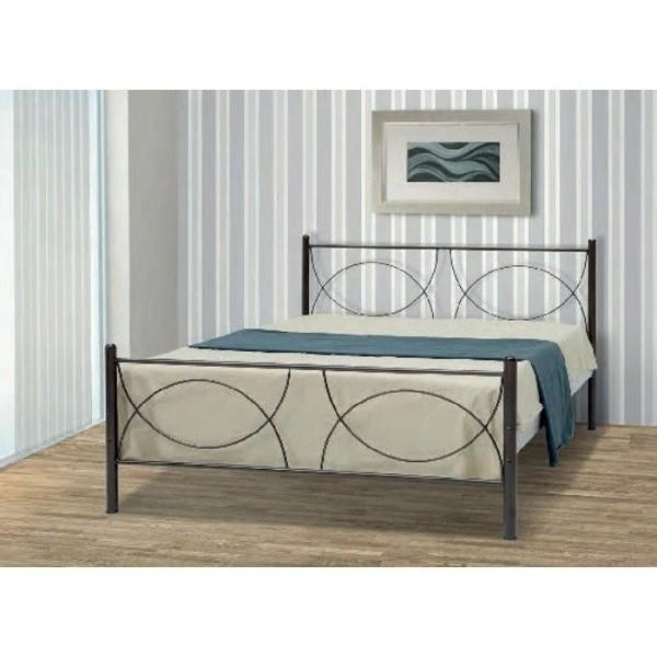 Μεταλλικό κρεβάτι Koupa 90X190