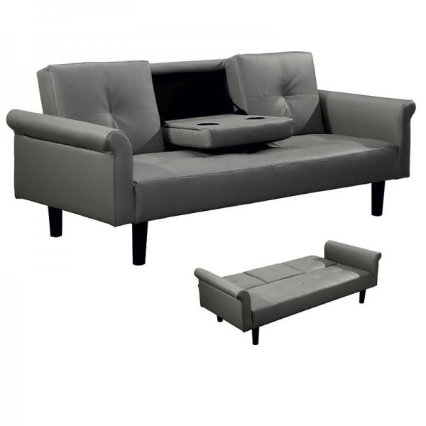Καναπές 3θεσιος  0013-16-003 Γκρι