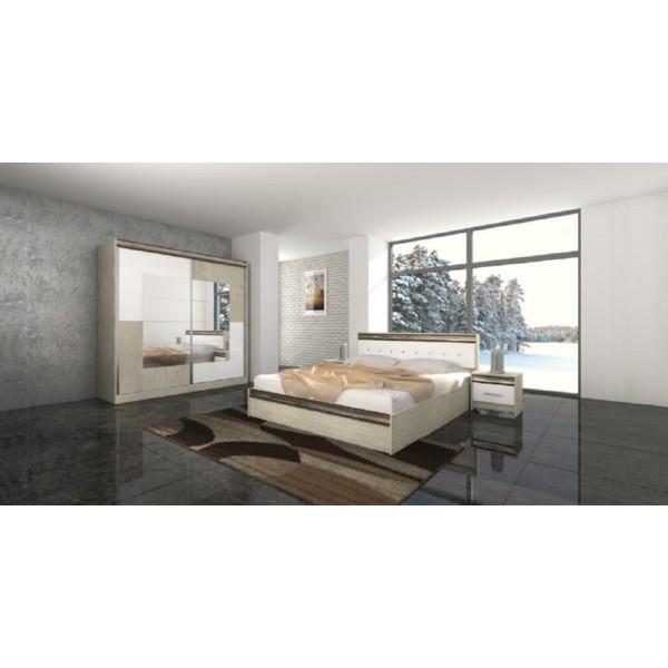 Κρεβατοκάμαρα City 496 Sonoma/Λευκό