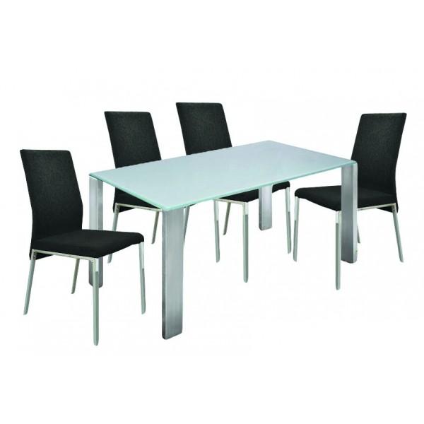 Τραπέζι Plaza με 4 καρέκλες