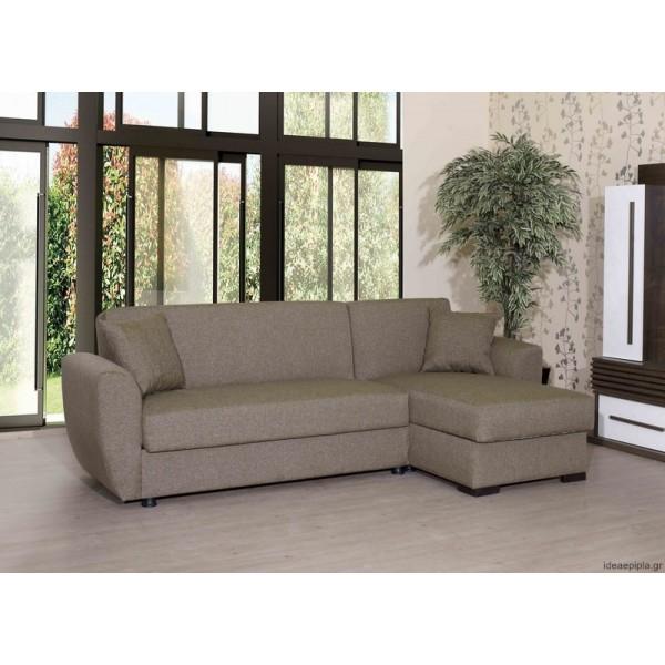 Γωνιακός Καναπές Hera με αποθ. χώρο