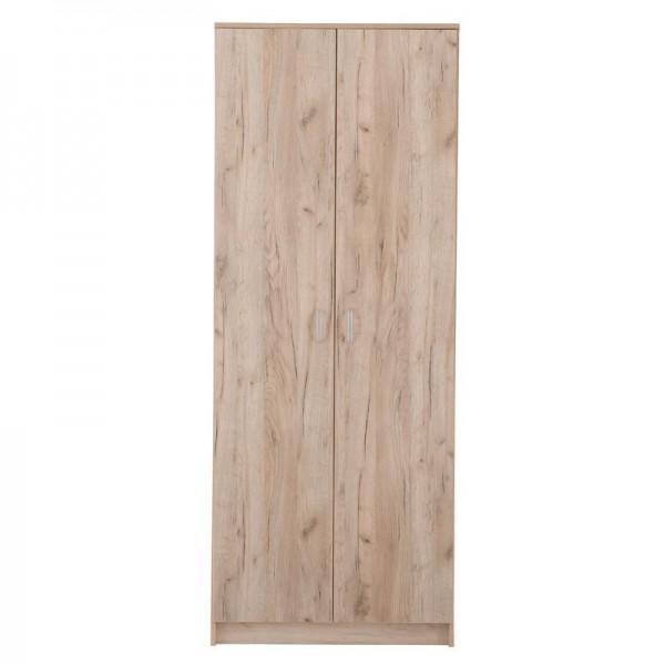 Ντουλάπα 2φυλλη Hana 2K Grey Oak