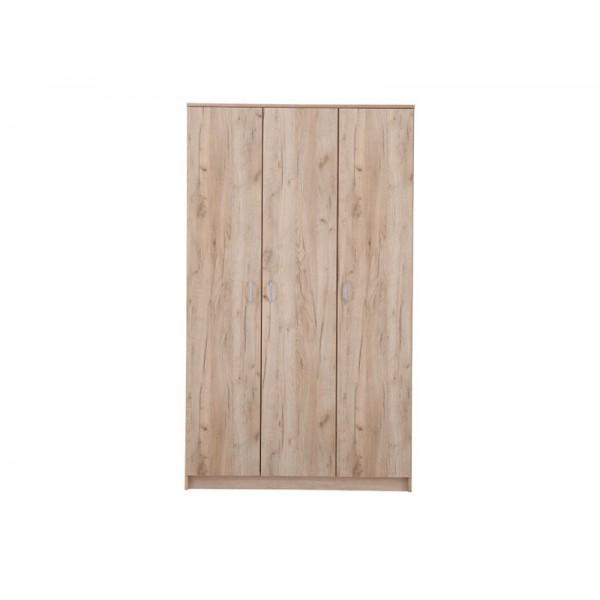 Ντουλάπα 3φυλλη HANA 3K Grey Oak
