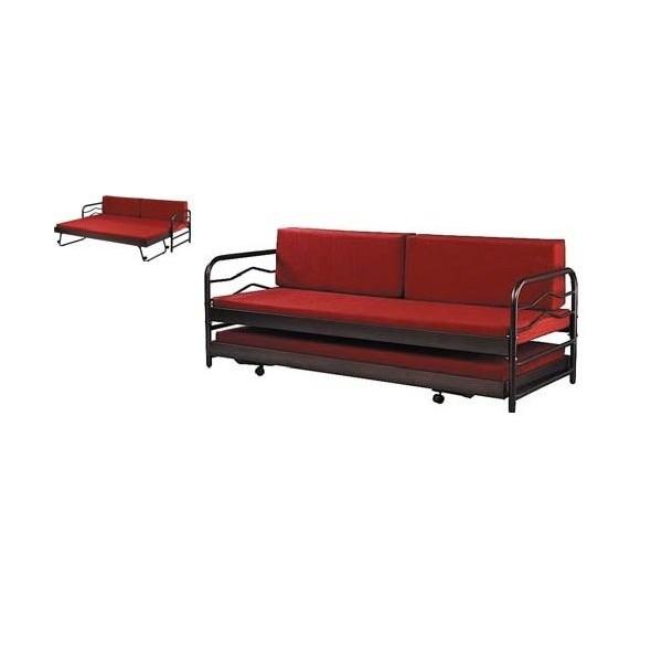 Μεταλλικός καναπές 3θεσιος